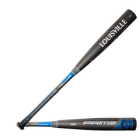 Louisville Slugger Prime BBCOR Baseball Bat - Men's - Black / Blue