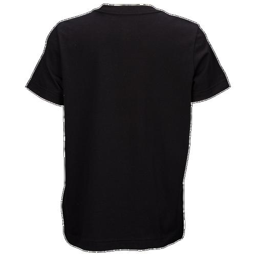 adidas Originals Trefoil T-Shirt - Boys' Grade School - Casual - Clothing -  Black/White