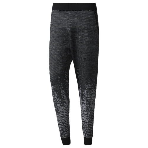 adidas Athletics ZNE Pulse Knit Pants - Men\u0027s - Casual - Clothing -  Black/Off White