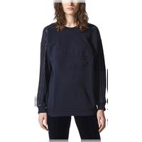 e317c50dbb516d adidas Originals St. Petersburg Velvet Sweatshirt - Women's - Navy / Navy