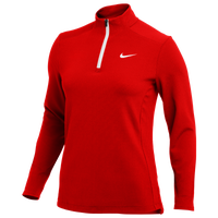Nike Team Authentic 1/2 Zip Top - Women's - Red