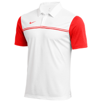 Nike Team Authentic Block Polo - Men's - White / Red