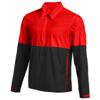 Nike Team Authentic Lightweight Coaches Jacket - Men's - Red / Black