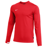 Nike Team Authentic Dry Crew Top - Men's - Red