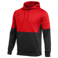 Nike Team Authentic Therma Hoodie - Men's - Red / Black
