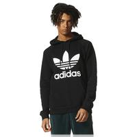 33ba8a0a adidas Originals Trefoil Hoodie - Men's - Black / White