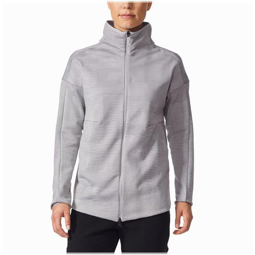 adidas Athletics ZNE Pulse Long Jacquard Cover-Up - Women's - Casual -  Clothing - Grey Multi