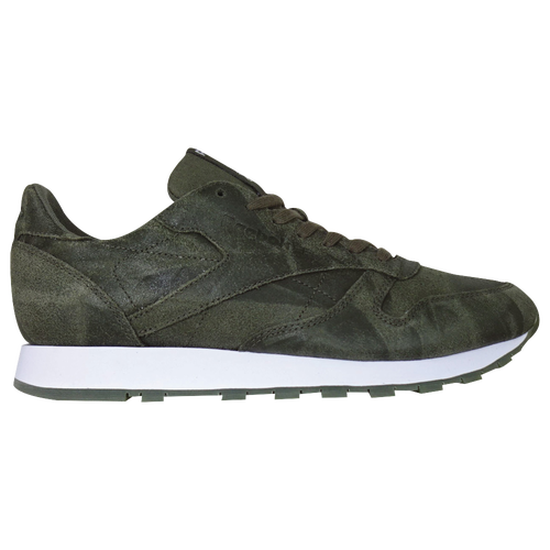 f9f1c6a4b9824 Reebok Classic Leather - Men s - Casual - Shoes - Army Green White