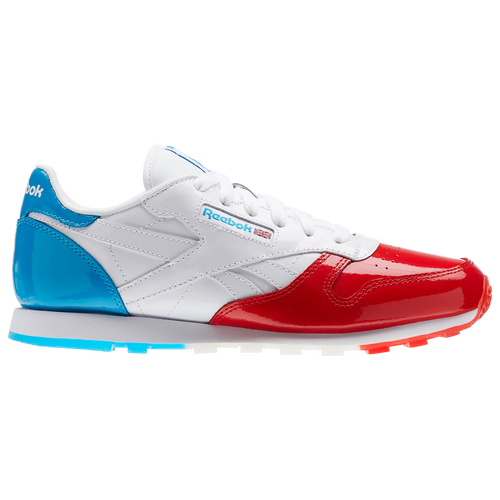 f34b1945f1c Reebok Classic Leather - Boys  Grade School - Casual - Shoes - Primal  Red White Caribbean Teal