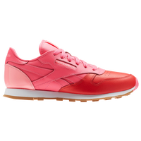 46cffa6ead6fc Reebok Classic Leather - Boys  Grade School - Pink   Red