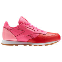 3fe7deb75f409 Reebok Classic Leather - Boys  Preschool - Pink   Red