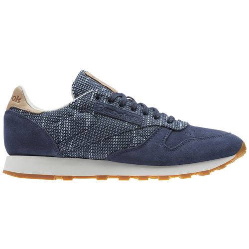 ce34289f030 Reebok Classic Leather - Men s - Running - Shoes - Smoky Indigo Cloud  Grey Chalk Gum
