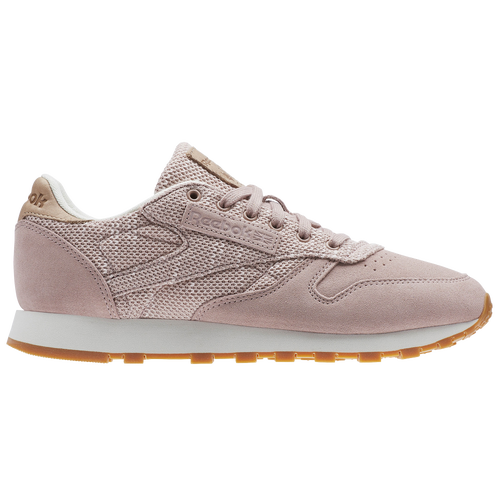 fd48223ca09d9 Reebok Classic Leather - Women s - Casual - Shoes - Shell Pink Chalk ...