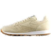 6088f055e0f Reebok Classic Leather - Men s - Casual - Shoes - Parchment White