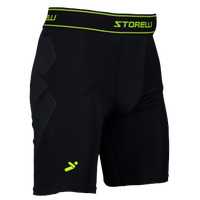 Storelli Sports Bodyshield Abrasion Sliders - Men's - Black / Light Green