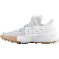 newest collection 2277f f2a90 adidas Dame 3 - Men s - Damian Lillard - White   Tan