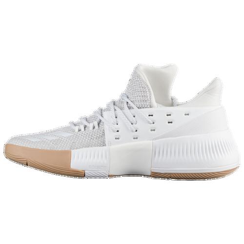adidas basketball shoes damian lillard. adidas dame 3 - men\u0027s basketball shoes lillard, damian white/cardboard lillard a