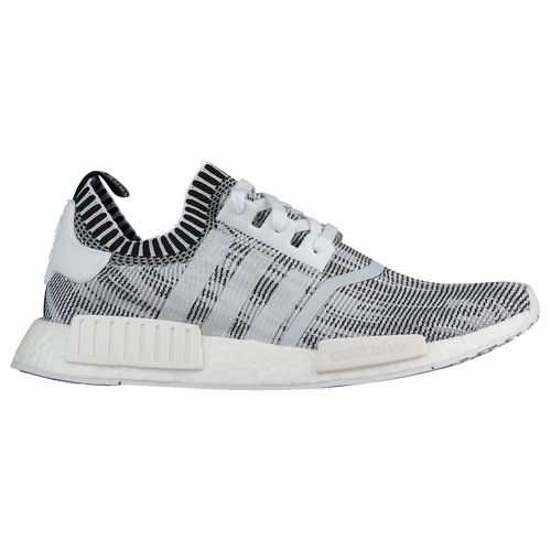 adidas Originals NMD R1 Primeknit - Men\u0027s - Running - Shoes -  White/White/Black
