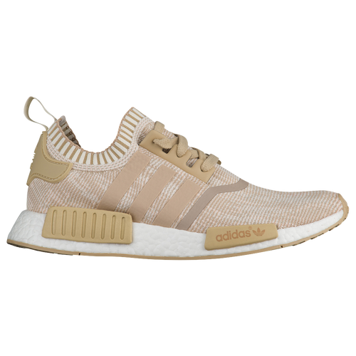 Adidas NMD R1 Primeknit White Solar Red 5 6 7 8 9 All Sizes BA8599