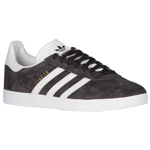 adidas Originals Gazelle - Women\u0027s - Training - Shoes - Utility  Black/White/Gold Metallic