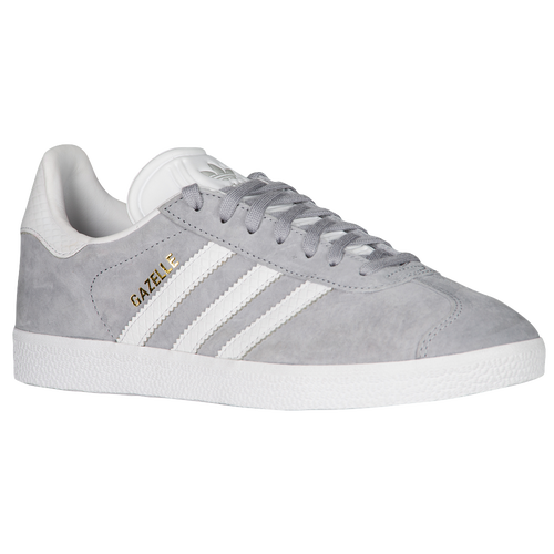 adidas Originals Gazelle - Women's - Training - Shoes - Mid Grey/White/Gold  Metallic