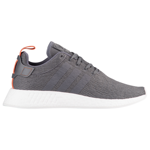 adidas Originals NMD R2 - Men\u0027s - Grey / Orange