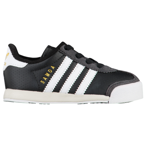 adidas samoa women's black and white
