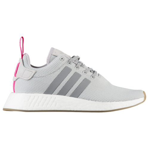adidas Originals NMD R2 - Women's - Grey / Pink