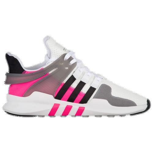 82743082a247 adidas Originals EQT Support ADV - Boys  Preschool - Casual - Shoes -  White Black Shock Pink