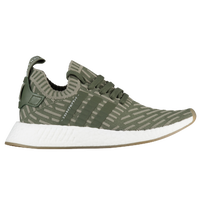 adidas Originals NMD R2 Primeknit - Women s - Olive Green   White 144985d0879d