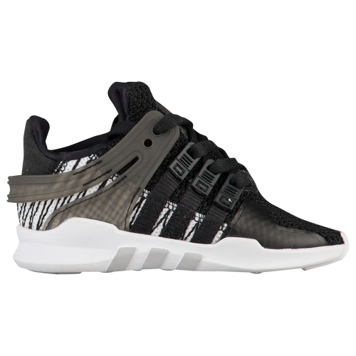 adidas Originals EQT Support ADV - Boys' Toddler - Casual - Shoes -  Black/Black/White