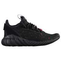 adidas Tubular Doom PK Mens By3131 Black Grey Primeknit Athletic