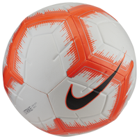 Nike Strike Soccer Ball - White / Orange