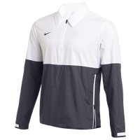 Nike Team Authentic Lightweight Coaches Jacket - Men's - White / Grey