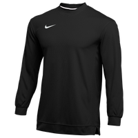 Nike Team Dry Classic Mesh L/S Top - Men's - Black