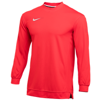 Nike Team Dry Classic Mesh L/S Top - Men's - Red
