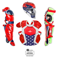 All Star System 7 Catcher's Kit - Grade School - Red / Blue