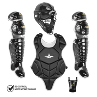 All Star League Series Catcher's Kit - Grade School - Black