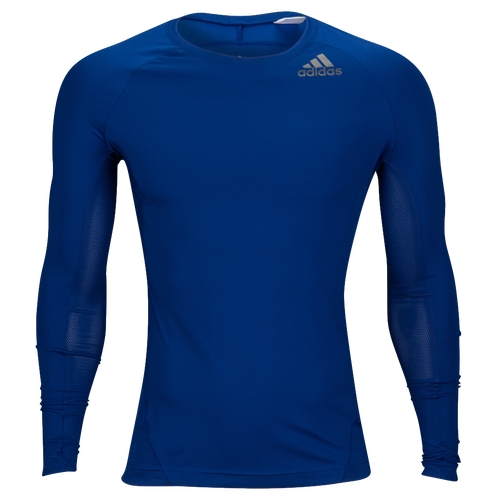 adidas ALPHASKIN L/S Compression T-Shirt - Men's Training - Mystery Ink CD7176