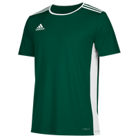 adidas Team Entrada 18 S/S Jersey - Men's - Dark Green / White