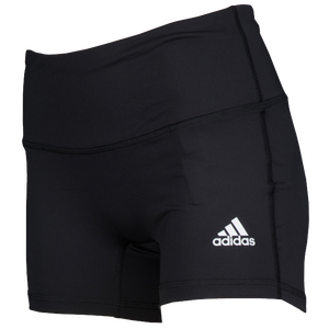 "adidas Team Climalite Techfit 4"" Shorts - Women's - Black"
