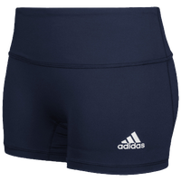 "adidas Team Climalite Techfit 4"" Shorts - Women's - Navy / Navy"