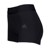 adidas ALPHASKIN Compression Shorts - Women's - All Black / Black