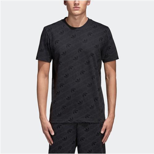 adidas Originals AOP T-Shirt - Men's Casual - Carbon CE1556
