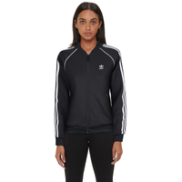 adidas Originals Adicolor Superstar Track Top - Women's - Black / White