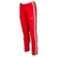 bca1e5468a64 adidas Originals Adicolor Superstar Track Pants - Women s - Red   White