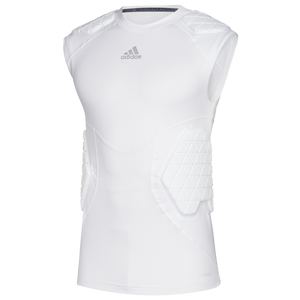 adidas Alphaskin Force 5 Pad Sleeveless Top - Men's - White