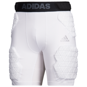 adidas Alphaskin Force 5-Pad Football Girdle - Men's - White/Black
