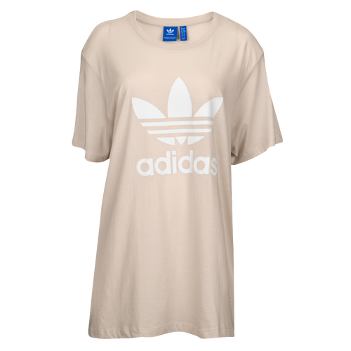 adidas Originals Trefoil T-Shirt - Women's Casual - Clear Brown CE8286