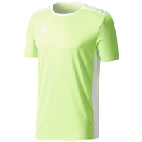 adidas Team Entrada 18 S/S Jersey - Men's - Light Green / White